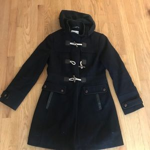 Nautica toggle and zip peacoat
